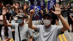 Pro-Demokratie-Demonstranten in Hongkong | Bildquelle: REUTERS