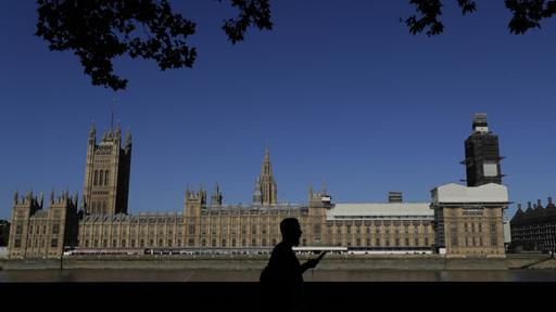 Das House of Parliament in London | AP