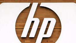 Logo des Computerkonzerns Hewlett-Packard