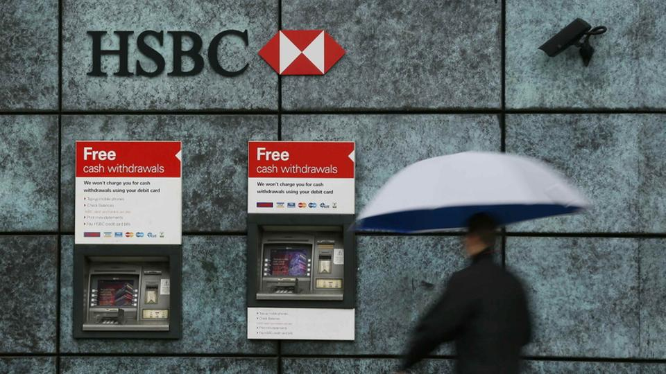 HSBC-Bankautomat in London | Bildquelle: REUTERS