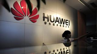 Huawei-Büro in Wuhan/China