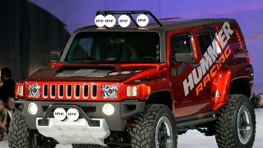 Hummer H3R   null