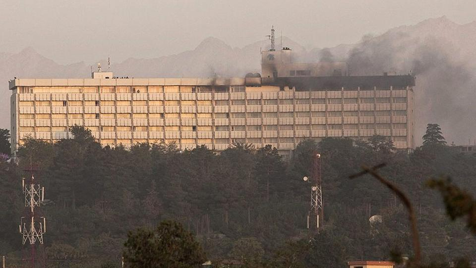 Intercontinental-Hotel in Kabul | Bildquelle: REUTERS