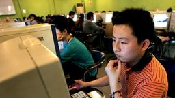 Internet-Café in Peking | Bildquelle: picture-alliance/ dpa