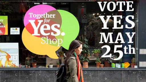 Yes-Kampagne in Irland
