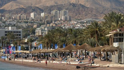 Strand in Eilat (Israel) | picture alliance / NurPhoto picture alliance / NurPhoto