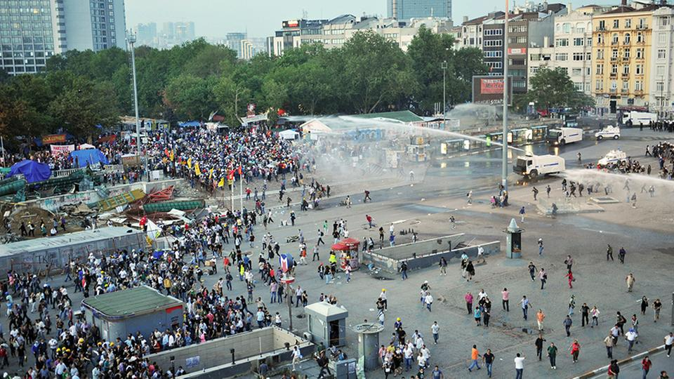 Proteste am Gezi-Park in Istanbul