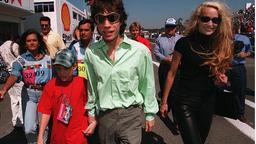Jagger, Jerry Hall
