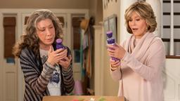 Jane Fonda in der Comedy-Webserie ''Grace and Frankie''