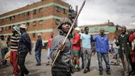 Demonstranten in Johannesburg
