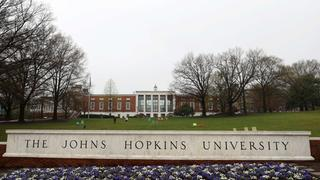 Johns Hopkins University in Baltimore | Bildquelle: AFP