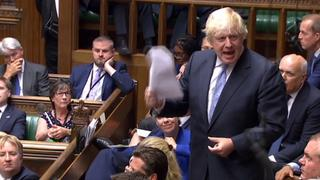Boris Johnson im Parlament | Bildquelle: AFP