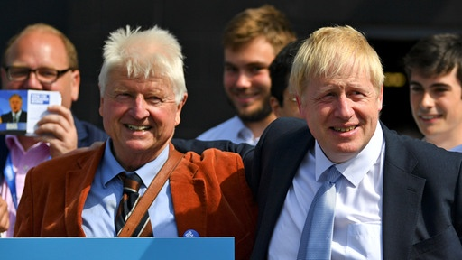 Stanley und Boris Johnson | Bildquelle: REUTERS