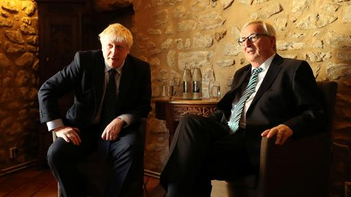 Boris Johnson, Jean-Claude Juncker  | Bildquelle: REUTERS