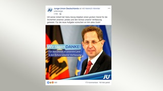 Social-Media-Post der Jungen Union | Bildquelle: facebook