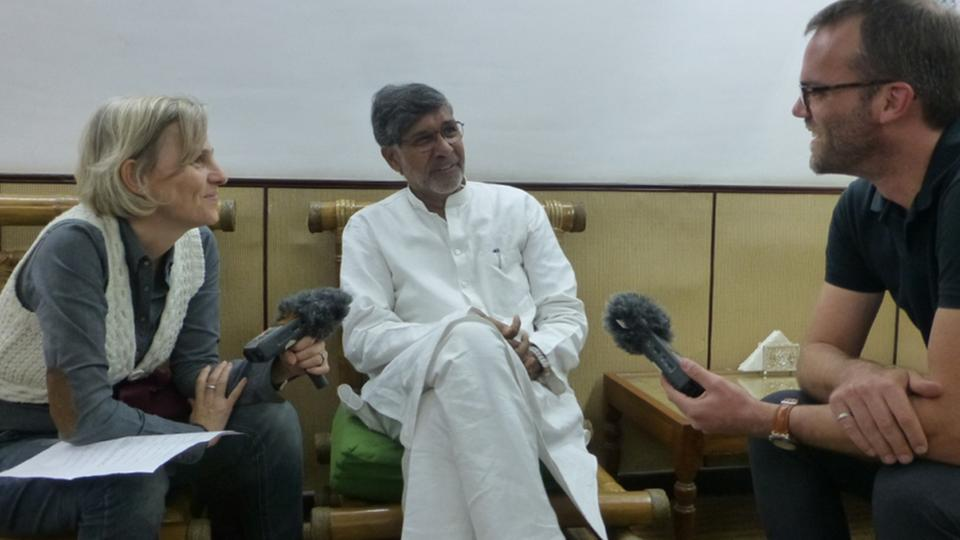 Kailash Satyarthi im Interview