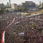 Demonstration auf dem Tahrir-Platz in Kairo im Februar 2011 | AFP