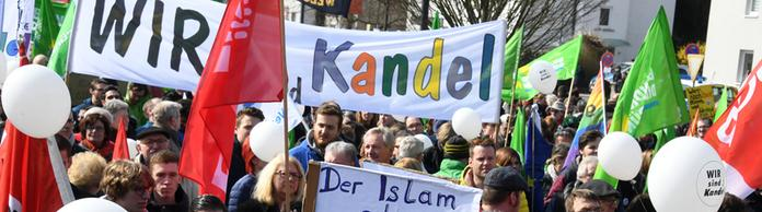 Demonstration in Kandel | Bildquelle: dpa