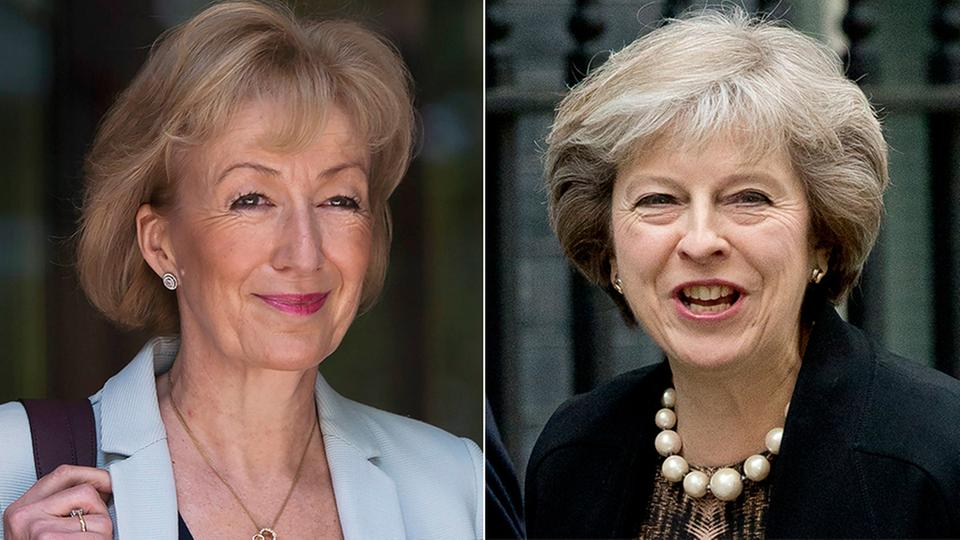 Andrea Leadsom und Theresa May
