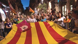 Demonstration in Barcelona | Bildquelle: AP