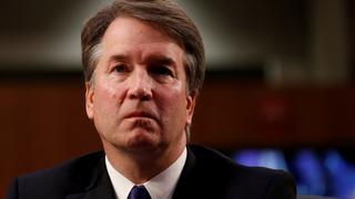 Brett Kavanaugh im Capitol Hill in Washington. | Bildquelle: REUTERS