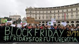 Fridays for Future weltweit:  Rom