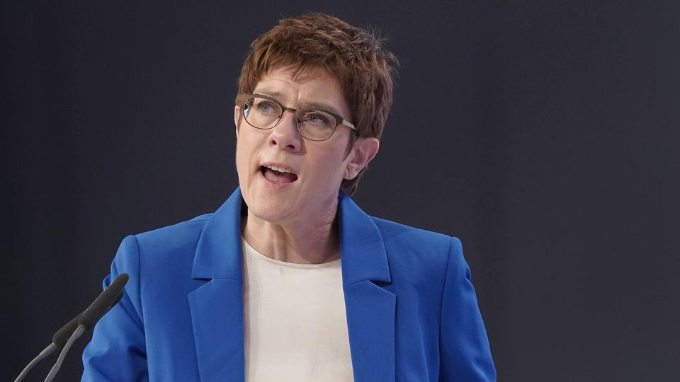 Annegret Kramp-Karrenbauer | Bildquelle: picture alliance / Flashpic