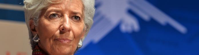 Christine Lagarde am 8. Oktober 2015 in Lima | Bildquelle: AFP