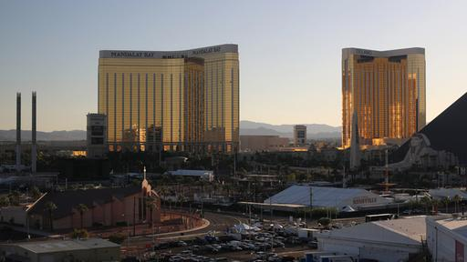 Das Mandalay Bay-Hotel in Las Vegas