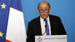 Frankreichs Außenminister Jean-Yves Le Drian   AFP
