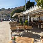 Leeres Restaurant in Port Soller |