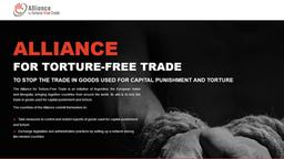 Logo Alliance For Torture-Free Trade