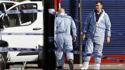 Forensiker am Tatort in London | Bildquelle: AFP