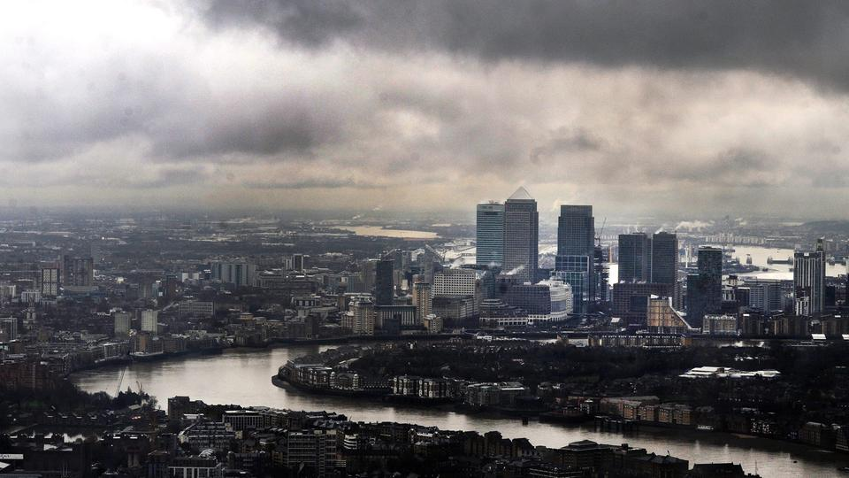 Finanzdistrikt in London | Bildquelle: dpa