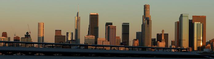 Skyline von Los Angeles. | Bildquelle: REUTERS