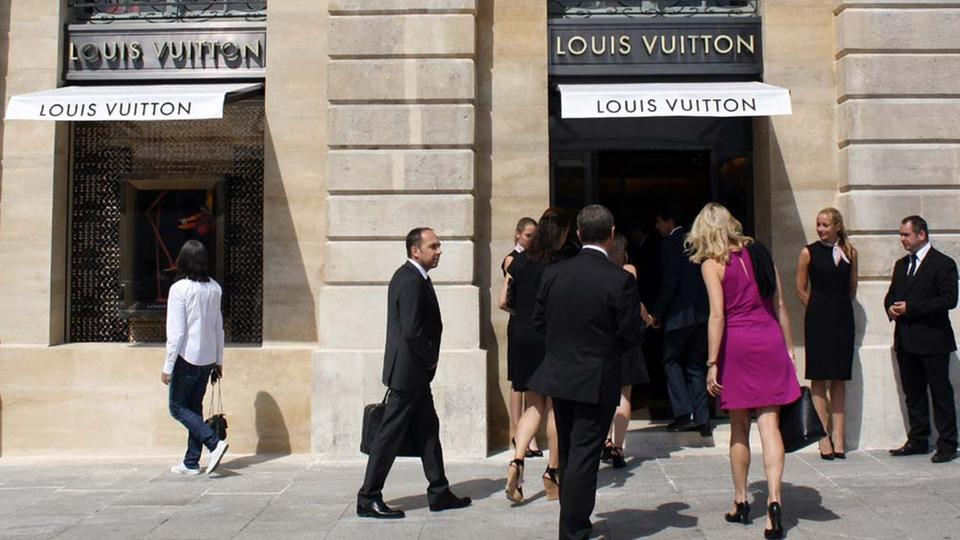 Louis Vuitton-Geschäft in Paris