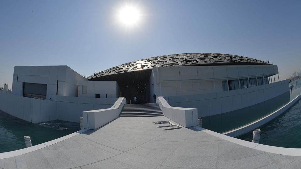 Louvre-Museum in Abu Dhabi