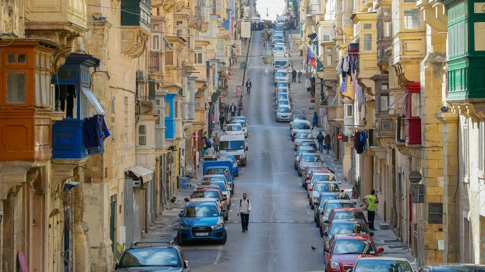 Straße in Valletta | Bildquelle: REUTERS