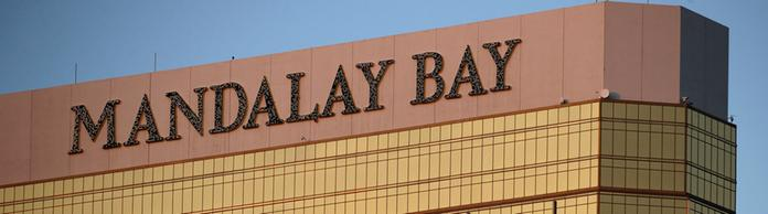 Fassade das Mandalay Bay Resort Hotels in Las Vegas | Bildquelle: dpa