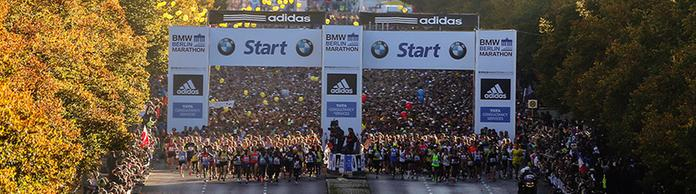Start zum Berlin-Marathon | Bildquelle: picture alliance / dpa