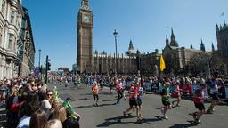 Läufer beim Marathon in London | Bildquelle: picture alliance / dpa