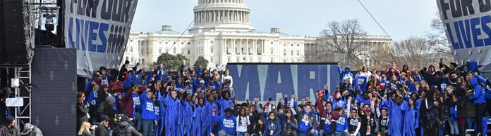 Kundgebung in Washington beim March for our lives | Bildquelle: AFP