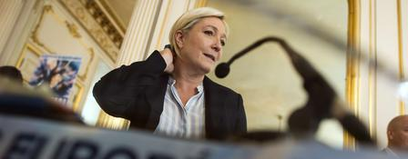 Front-National-Chefin Marine Le Pen
