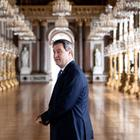 Markus Söder im Schloss Herrenchiemsee | picture alliance/dpa