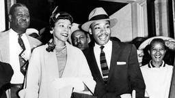 Martin Luther und Coretta Scott King