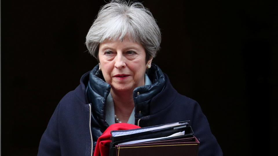 Premierministerin Theresa May | Bildquelle: REUTERS