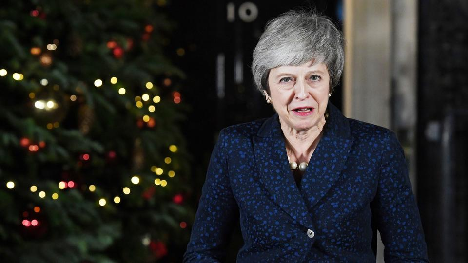 Theresa May; Foto: ANDY RAIN/EPA-EFE/REX