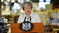 May bei einer Rede in Stoke-on-Trent