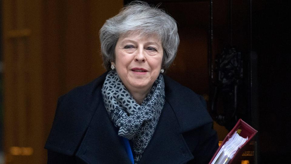 Theresa May; Foto: FACUNDO ARRIZABALAGA/EPA-EFE/REX