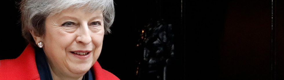 Premierministerin Theresa May | Bildquelle: AFP